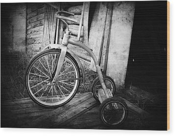 Dormant Child  Wood Print by Empty Wall