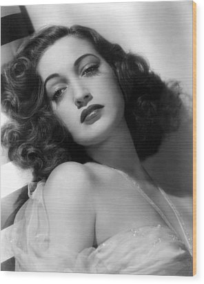 Dorothy Lamour, Paramount Pictures, 1943 Wood Print by Everett
