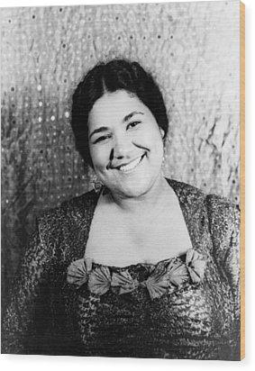 Dorothy Maynor (1910-1996) Wood Print by Granger