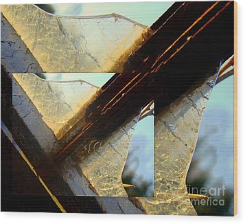 Double Jointed  Wood Print by Tammy Cantrell