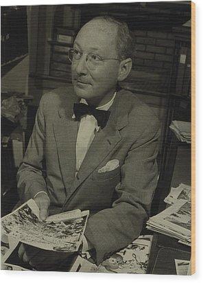 Dr. Otto Bettmann, A German Jewish Wood Print by Everett