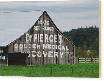 Dr. Pierce Barn 110514.98.1 Wood Print