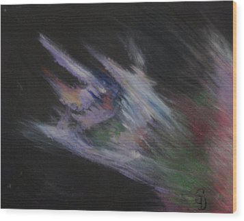 Dragon's Breath Wood Print