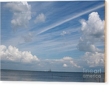 Wood Print featuring the photograph Drama In The Sky by Vilas Malankar