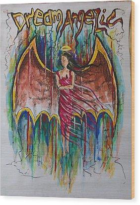 Dream Angelic Wood Print by Rohit Kumar