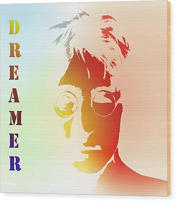 Dreamer 2 Wood Print by Steve K