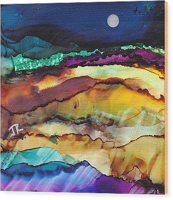 Dreamscape No. 173 Wood Print by June Rollins
