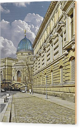 Dresden Academy Of Fine Arts Wood Print by Christine Till