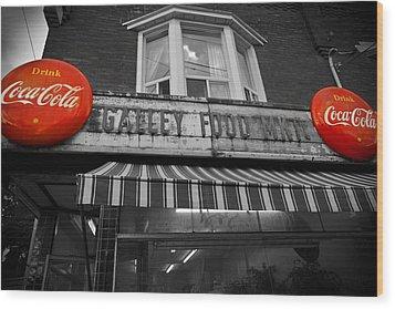 Drink Coca Cola Wood Print by Kamil Swiatek