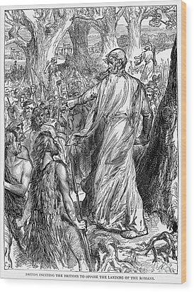 Druids Wood Print by Granger