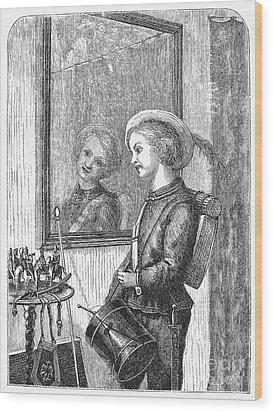 Drummer Boy, 1873 Wood Print by Granger