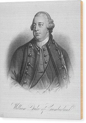 Duke Of Cumberland Wood Print by Granger