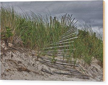 Dunes Wood Print by Rick Berk