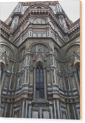 Duomo Florence Italy Wood Print by Micheal Jones