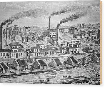Dupont Powder Mill, 1854 Wood Print by Granger