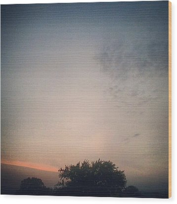 Dusk... #andrography #nexuss #random Wood Print by Kel Hill