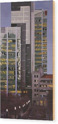 Dusk Wood Print by Duane Gordon
