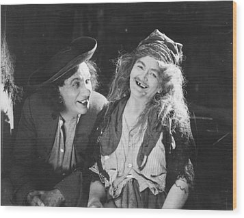 D.w. Griffith: Film, 1922 Wood Print by Granger
