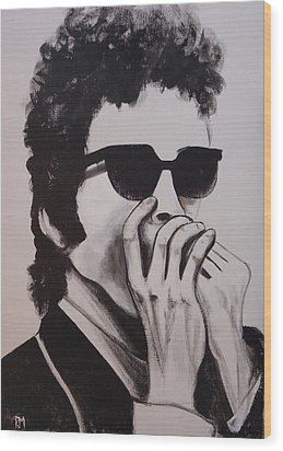 Dylan Wood Print by Pete Maier