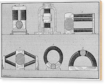 Dynamo Types, 19th Century Wood Print by