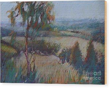 Eagles Lookout Wood Print by Pamela Pretty