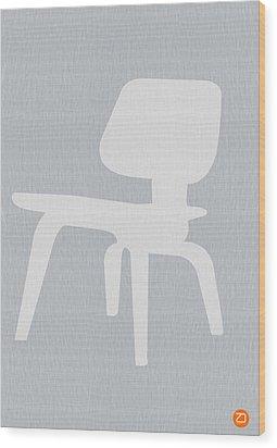 Eames Plywood Chair Wood Print by Naxart Studio