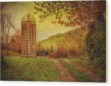 Early Autumn Wood Print by Kathy Jennings