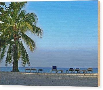 Wood Print featuring the photograph Early Morning Trinidad Cuba by Lynn Bolt
