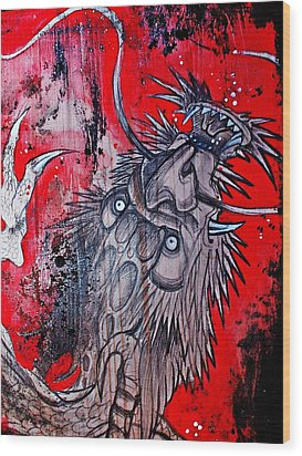 Earth Spirit Wood Print