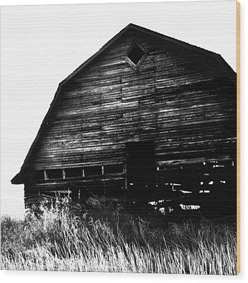 East Wind Wood Print by Empty Wall