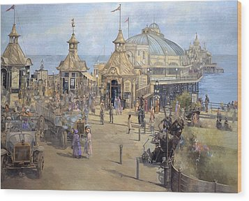 Eastbourne Wood Print by Peter Miller