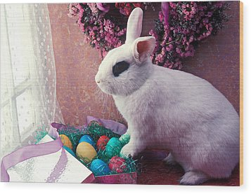 Easter Bunny Wood Print by Garry Gay