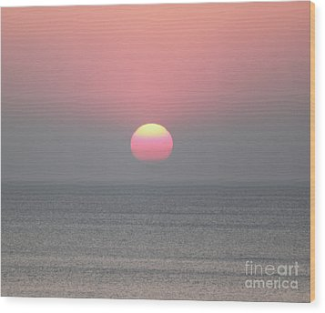 Easter Sunrise Wood Print by Marilyn West
