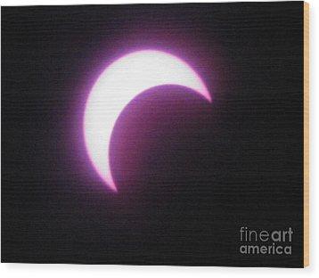 Eclipse9 2012 Wood Print
