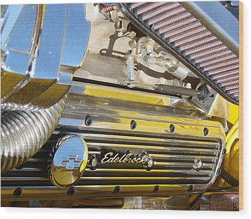 Edelbrock  Wood Print by Tammy Cantrell