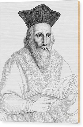 Edward Kelley, English Alchemist Wood Print by Science Source