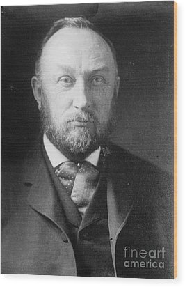 Edward Pickering, American Astronomer & Wood Print by Science Source