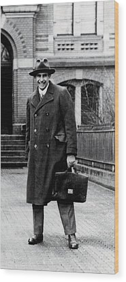 Edward Teller 1908-2003, As A Research Wood Print by Everett