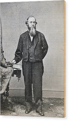 Edwin Stanton, Secretary Of War Ender Wood Print by Everett