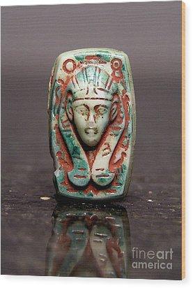 Egyptian 371 Wood Print by Dwight Goss