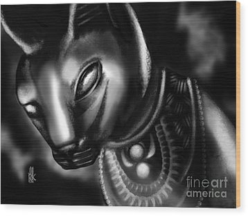 Egyptian Cat II Wood Print
