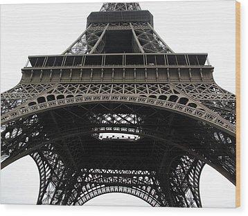 Eiffel Tower Wood Print by G Fletcher