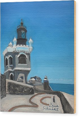 El Morro Fort In Old San Juan Puerto Rico Wood Print