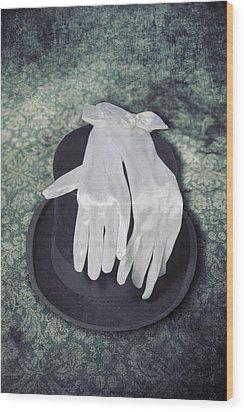 Elegance Wood Print by Joana Kruse
