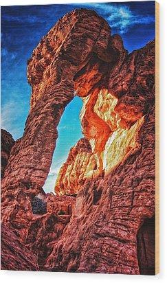 Wood Print featuring the photograph Elephant Rock by Joe Urbz