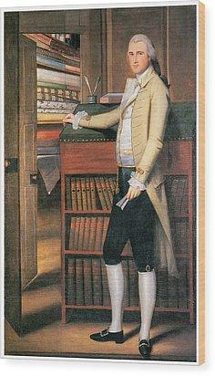 Elijah Boardman Wood Print by Ralph Earl