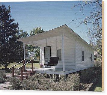 Elvis Presleys Birthplace, Tupelo Wood Print by Everett