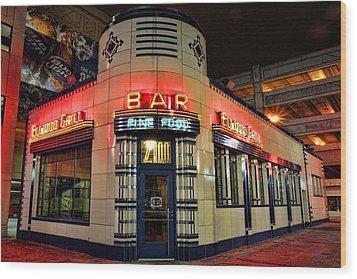 Elwood Bar And Grill Detroit Michigan Wood Print by Gordon Dean II