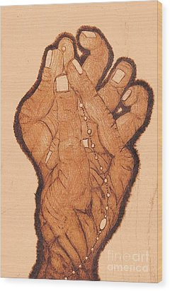 Embracing The Moment Wood Print by TK Mayfield
