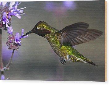 Emerald Beauty Wood Print